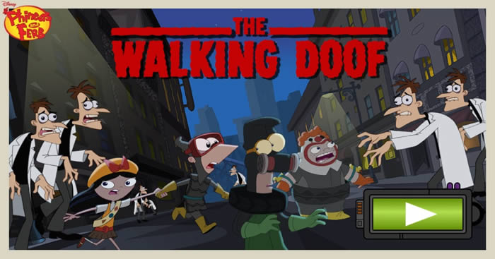 Phineas and Ferb The Walking Doof game